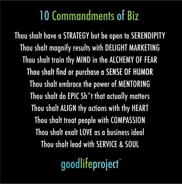 10-commandments of Biz