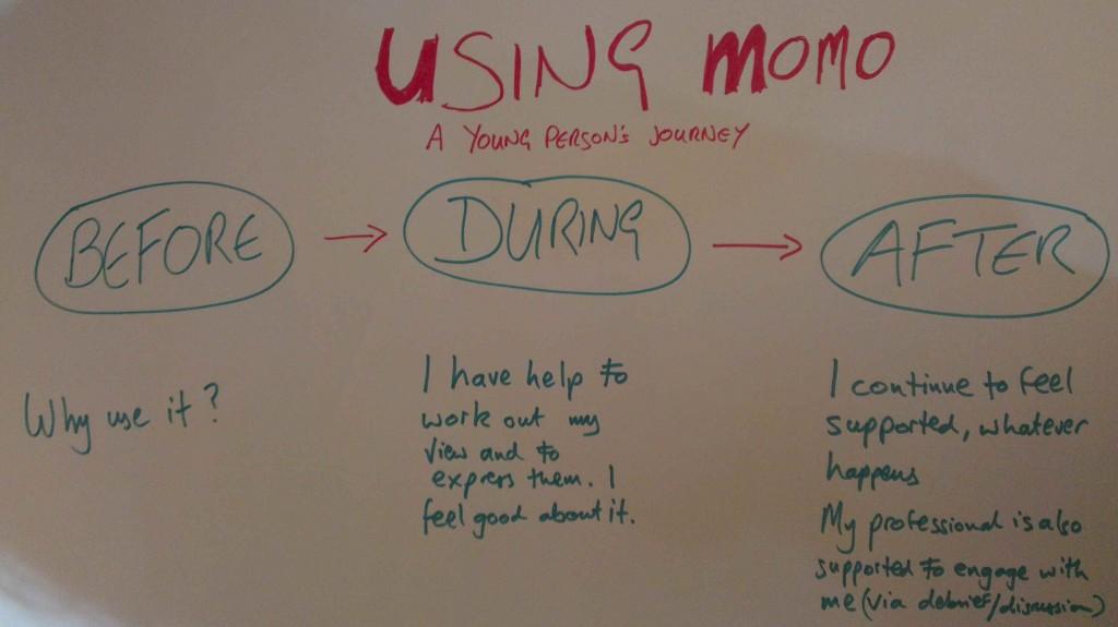MOMO Basic User Journey