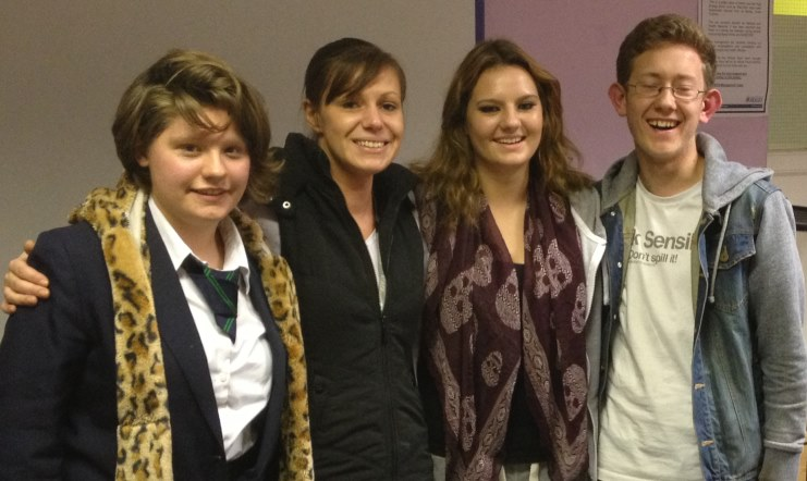Bexley MOMO Young People and Becky Gunner